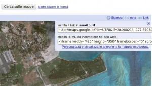 Google Map Iframe Link