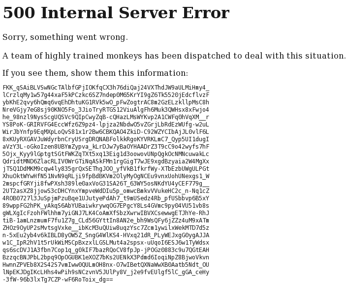 500 internal server error php: