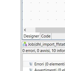 talend open studio - tab code
