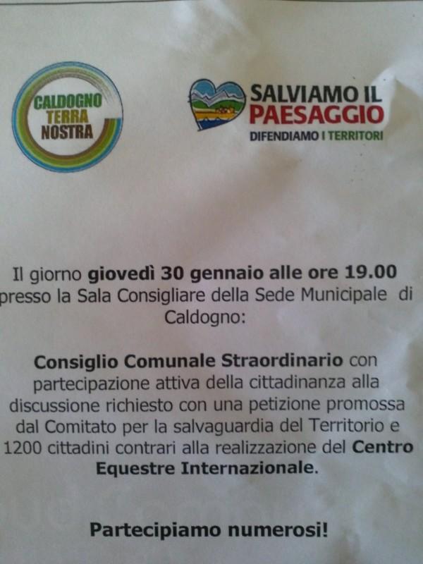 centro-equestre-caldogno-consiglio-comunale-straordinario-30-gennaio-2014
