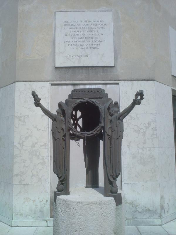 cimitero Grande Guerra di Feltre