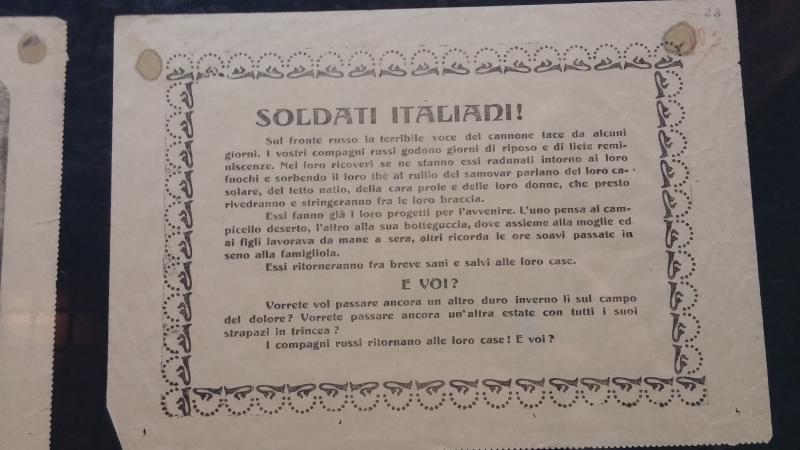 museo storico italiano della guerra rovereto
